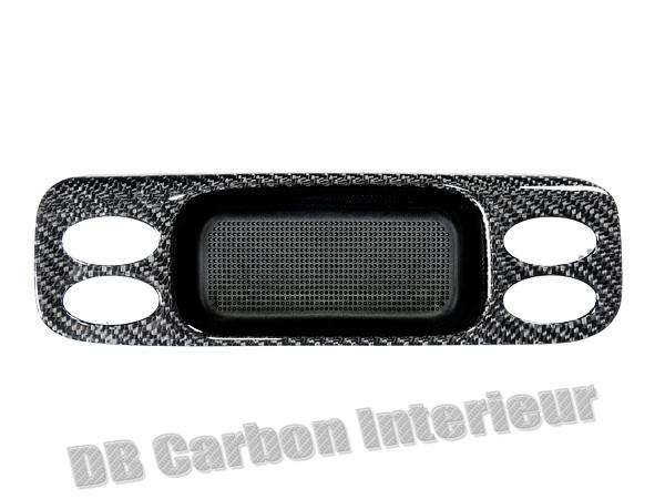 Porsche 996 carbon non-smoker ashtray surround storage box replacement ash tray cover window switch trim center console carbon parts