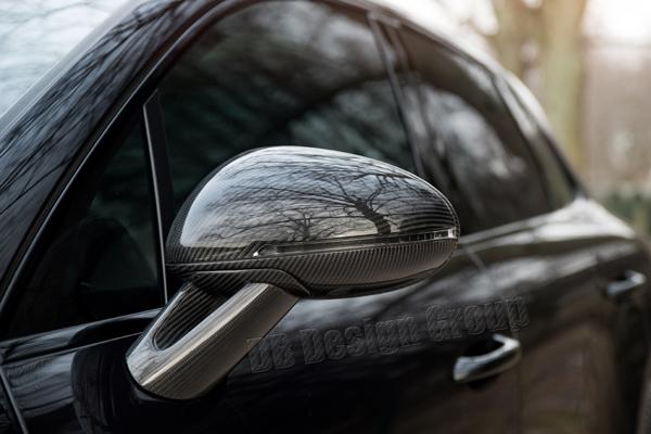Porsche 95B Macan carbon side mirror housing lower trim parts