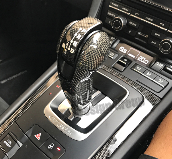 Porsche 991.2 carbon PDK shift knob gear selector automatic shifter console