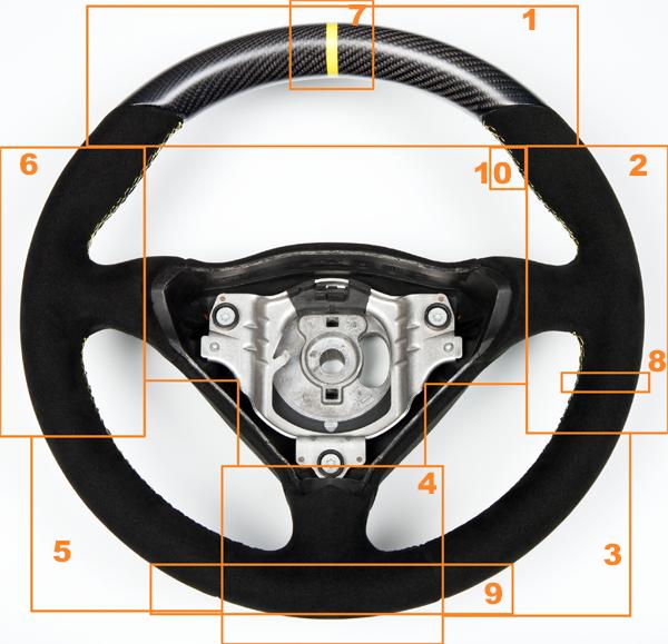 DB Carbon Lenkrad Kundenwunsch Porsche, Audi, Maserati, BMW, Mercedes Benz