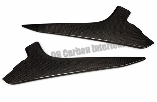 Porsche 991 carbon center console trim panel console cover knee pad carbon parts