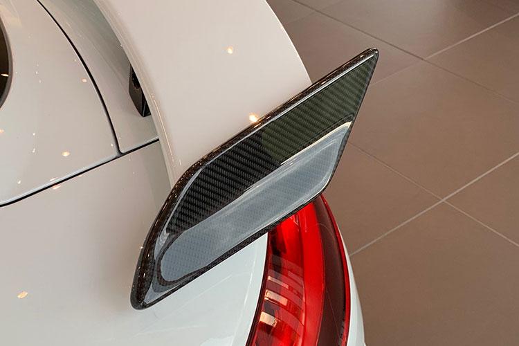 Audi TT RS carbon rear spoiler wing blade exterior trim carbon parts