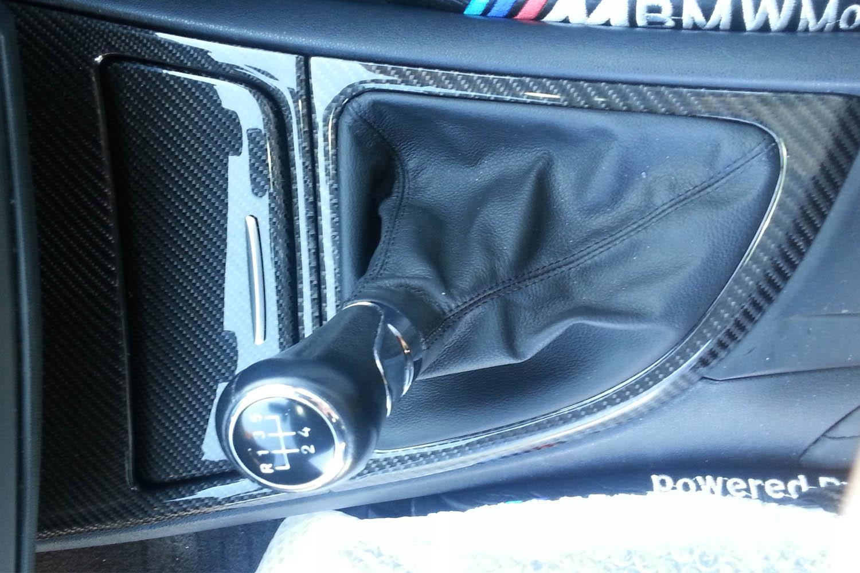 BMW 1 E81 E82 E87 E88 Carbon Mittelkonsole Aschenbecher Deckel Echt Carbon Interieur Blende Carbonteile Konsole Schaltknauf