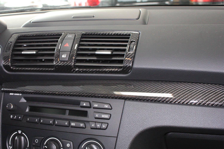 BMW 5 E60 E61 Carbon Mittelkonsole Blende Echt Carbon Dekor Interieur Zierleisten Carbonteile Konsole Armaturenbrett