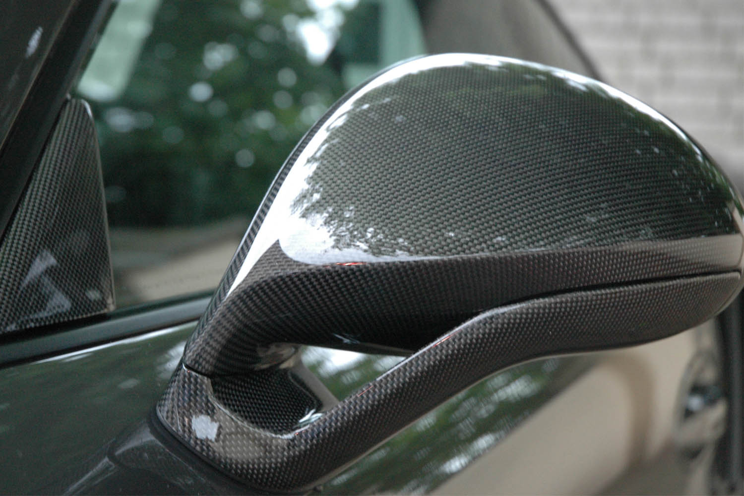 Porsche 981 991 carbon sport design mirror housing real carbon side mirror triangles exterior carbon parts side mirrors